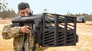 US is Testing a New Kind of Anti Drone Rifle