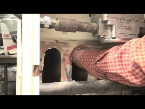 How to check the heat exchanger of the older gas furnaces