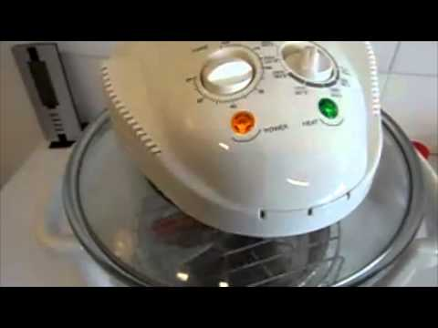 Cooking a Lamb Shank in a Portable Convection Oven