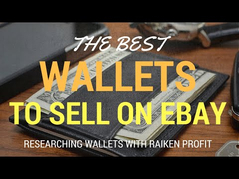 Things to Sell on Ebay - Men's Wallets That Are Selling on Ebay