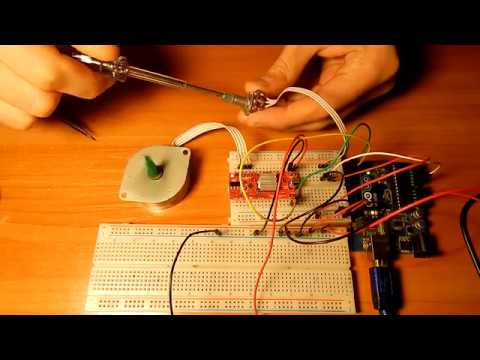 Arduino Stepper Motor Speed Control with Potentiometer