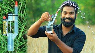 How To Make A Mini Water Pump | പമ്പ് ഉണ്ടാക്കാൻ പഠിച്ചാലോ... ??? | M4 Tech |