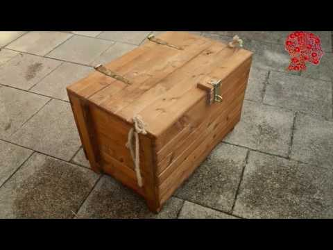 Woodworking # 47 - DIY Wooden Chest - Reclaimed Wood