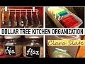 ☆ DOLLAR TREE ORGANIZING   KITCHEN ☆