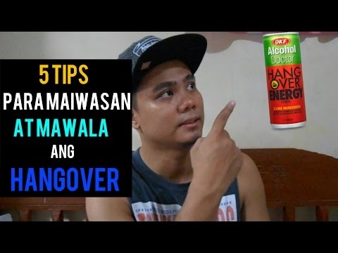 5 Tips to Prevent and Cure Hangover