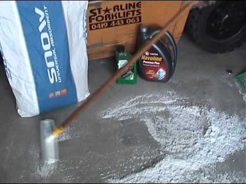 Clean Up Oil Spills Using Ecospill SNOW Absorbent