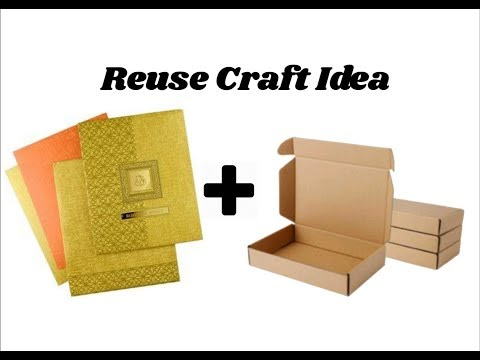 Reuse DIY Craft Idea | Best out of waste | Home decor idea