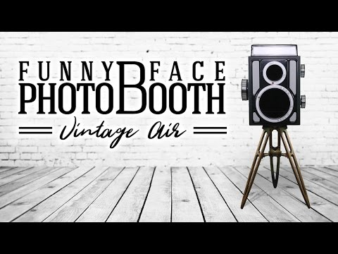 Vintage Air by Funny Face Photo Booth - All-In-One - Open Air Photo Booth