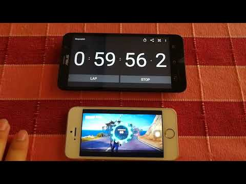 iPhone 5s : Battery Life Drain Test