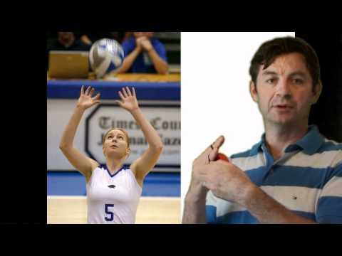 Volleyball Drills - Finger Strength Training Aid for Setting & Passing