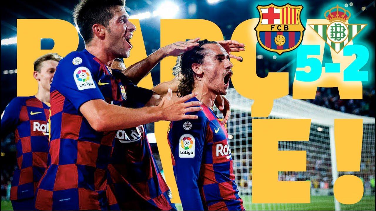 Barça 5-2 Betis | BARÇA LIVE: Warm up & Match Center