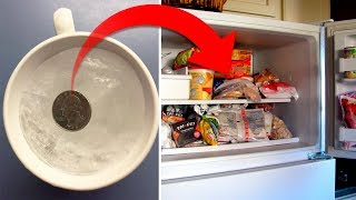 Here's Why You Should Leave a Coin in the Freezer Before Leaving the House