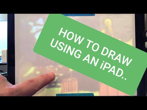 How To Draw Using An iPad As Tracing Light Box. Great For Kids & Artists