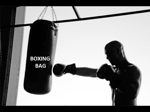 How to make a punching BAG for BOXING.