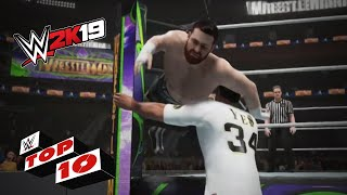 Heart-pounding OMG Moments: WWE 2K19 Top 10