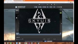 Skyrim SE: SkyUI And SKSE64 Mod Organizer 2 Installation Tutorial -  getplaypk
