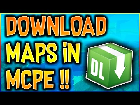 How To Download Maps For Mcpe On Ios Devices (MINECRAFT POCKET EDITION) McpeDl Tutorial
