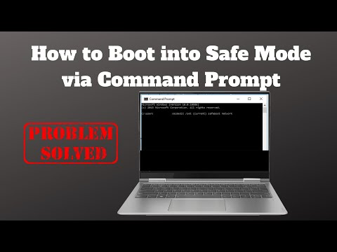 How to Boot into Safe Mode via Command Prompt