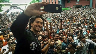 How | Tiger Shroff | React when Munna Michael trailer Launched