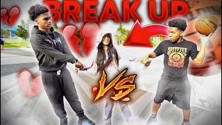1V1 BASKETVALL VS MY SISTER BOYFRIEND! (If He Lose They Break Up)