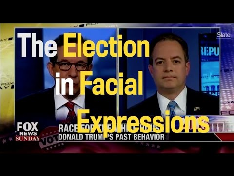The Election In Facial Expressions