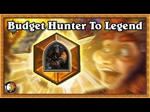 Hearthstone: Budget Hunter To Legend - Final Boss