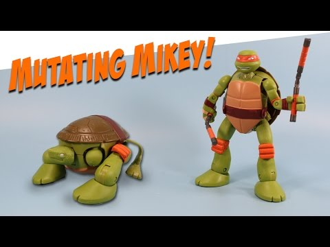Ninja Turtles Mutations Michelangelo Pet to Ninja Transformer