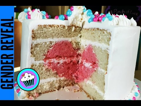 How to make a Gender Reveal Cake   Pinch of Luck