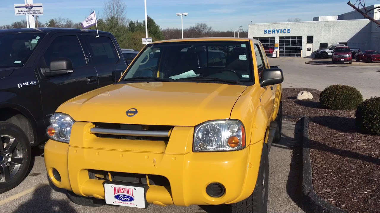 2002 Nissan Frontier For Sale   Used Small Pickup Trucks