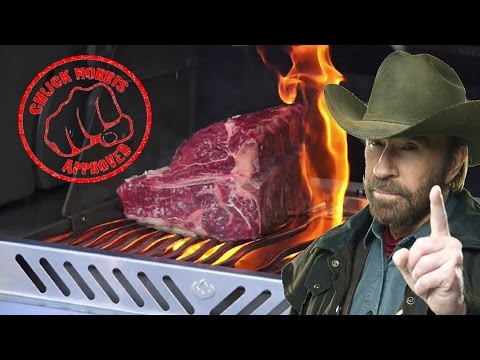 Spezial - Chuck Norris Cut 3,75 Kg Porterhouse Steak [Deutsches BBQ- Grill & Kochrezept]