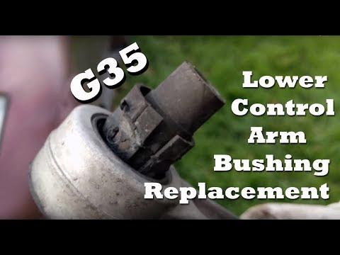 2005 Infiniti G35 Lower Control Arm Bushing replacement - Whiteline Bushing
