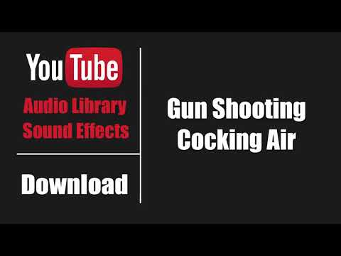 •Free Sound Effect• Gun Shooting Cocking Air | Free Sound Effects