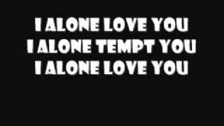 Live - I Alone (Lyrics)