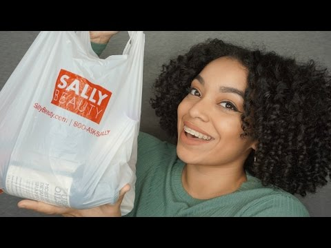 Sally Beauty HAUL | Natural Hair Products