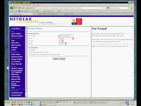 Fast NETGEAR Basic Security Settings