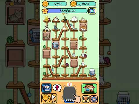 Cat Condo Game COMPLETE All 40 Cats!