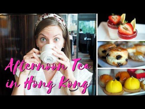 Afternoon Tea in Hong Kong