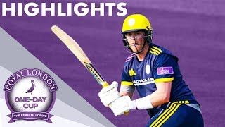 Northeast Hits 100 For Holders | Kent v Hampshire | Royal London One-Day Cup 2019 - Highlights