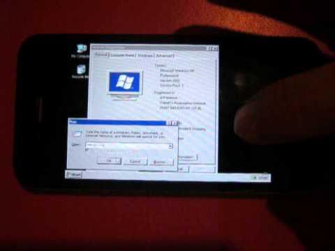 Windows XP Running in iPhone 4 on Bochs