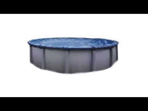 30' Deluxe Round Above-Ground Pool Cover