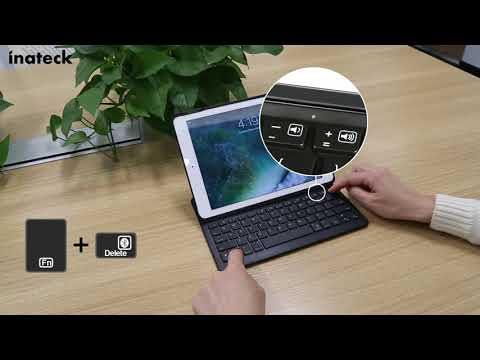 How to pair iPad with Inateck Bluetooth Keyboard?