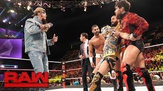 Nefarious Cruiserweights brutalize Kalisto: Raw, Oct. 16, 2017