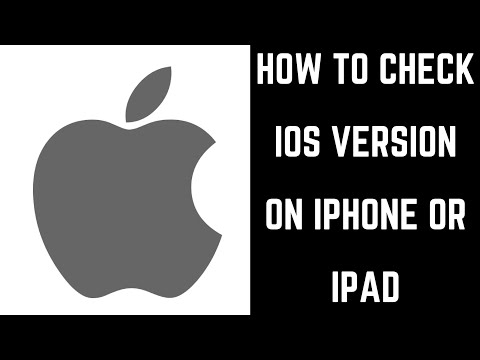 How to Check iOS Version on iPhone or iPad