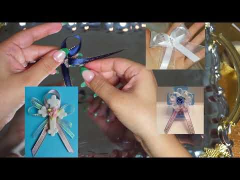 Easy to make favor ribbon