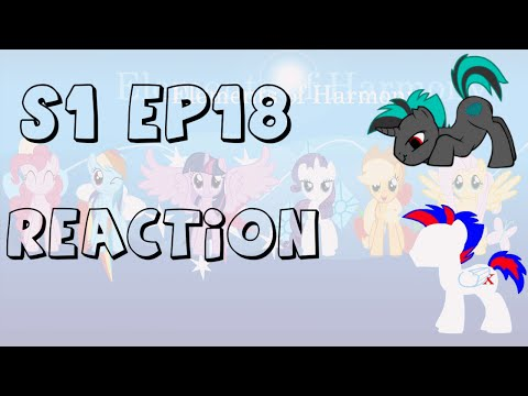 Laughing oh so nicely | Reaction of My little Pony S1 EP18 - The Show Stoppers (with Xotax)