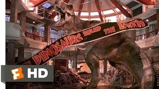 Jurassic Park (1993) - T-Rex vs. the Raptors Scene (10/10)   Movieclips