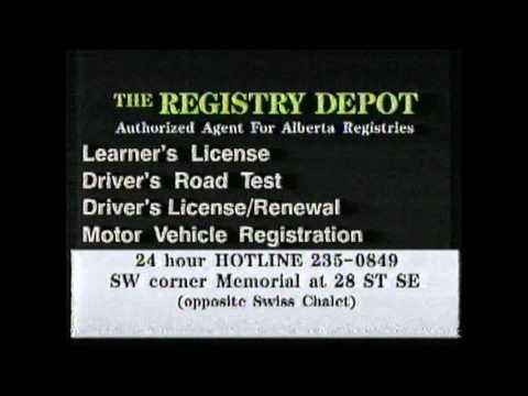 Calgary Registry Depot (1994)