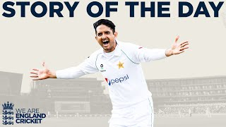 Shan Masood Hits Ton Before Pakistan Bowlers Dominate | England v Pakistan 1st Test Day 2 2020