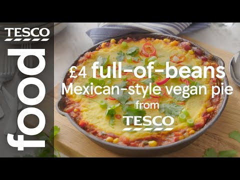 £4 Mexican-style vegan pie | Tesco Food