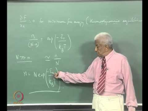 Mod-01 Lec-38 Defects in Solids - Point Defects